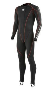 REV'IT! Sports Excellerator Black 1-Piece Under