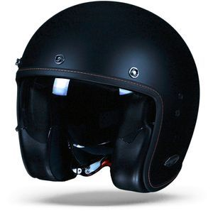 Scorpion Belfast Solid Casco Jet Negro Mate