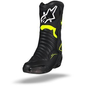 Alpinestars SMX-6 V2 Black Yellow Fluo