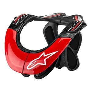 Alpinestars BNS Tech Anthracite Red White Carbon