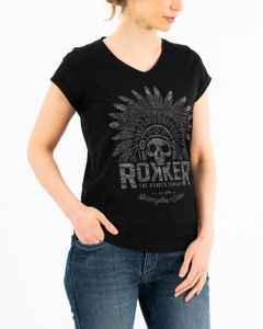 ROKKER Indian Bonnet Lady Black