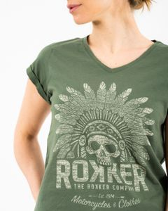 ROKKER Indian Bonnet Lady Olive