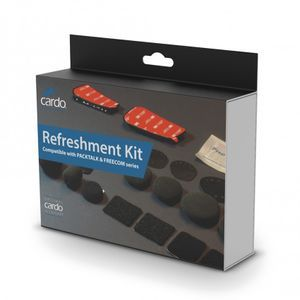 Cardo Systems Refreshment Kit Packtalk and Freecom