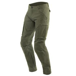 Dainese Combat Tex Olive Motorcycle Pants