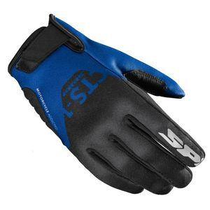 Spidi CTS-1 Black Blue Motorcycle Gloves