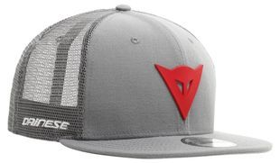 Dainese 9fifty Trucker Snapback Grey Red