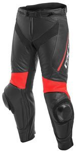 Dainese Delta 3 Black Black Fluo Red