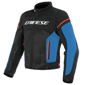 Dainese Air Frame D1 Black Light Blue Red Fluo