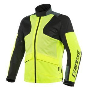 Dainese Air Tourer Tex Fluo Yellow Ebony Black