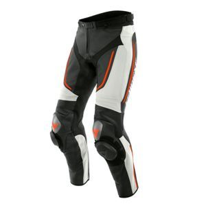 Dainese Alpha Perf. White Black Fluo Red