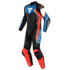 Dainese Avro D2 Black Light Blue Fluo Red 2 Piece