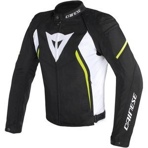 Dainese Avro D2 Black White Yellow Fluo