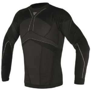 Dainese D-Core Aero Tee LS Sous-Maillot Noir Anthracite