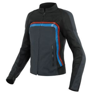 Dainese Lola 3 Lady Black Ebony Red Blue
