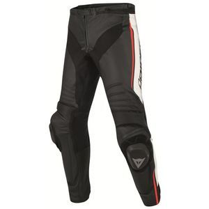 Dainese Misano Perf. Black White Fluo Red