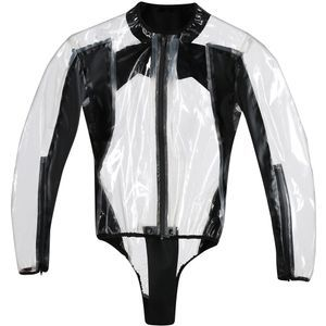 Dainese Rain Body Racing D1 Suit Enterizo De Lluvia Transparente