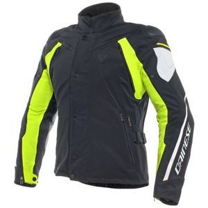 Dainese Master D-Dry Black Glacier-Grey Fluo Yellow