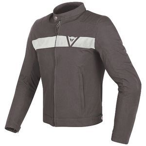 Dainese Stripes Dark-Brown White
