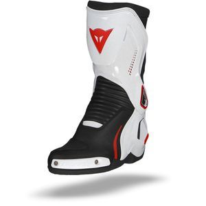Dainese Course D1 Out Black White Lava Red