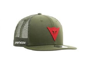 Dainese 9fifty Trucker Snapback Green Red