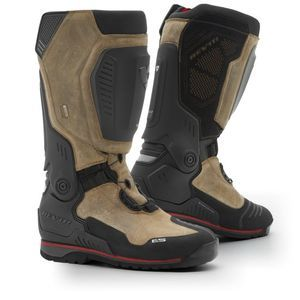 REV'IT! EXPEDITION H2O BLACK BROWN MOTORCYCLE BOOTS