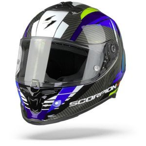 Scorpion EXO-R1 Air Halley Blue Neon Yellow