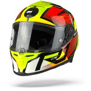 Scorpion EXO-R1 Air Infini Black Red Neon Yellow