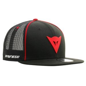 Dainese 9fifty Trucker Snapback Black Red