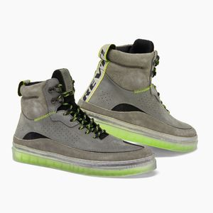 REV'IT! Filter Gray Neon Yellow Motorcycle Shoes
