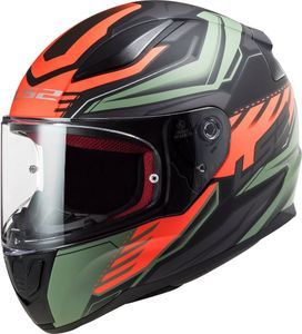 LS2 FF353 Rapid Gale Matt Black Red Matt Green