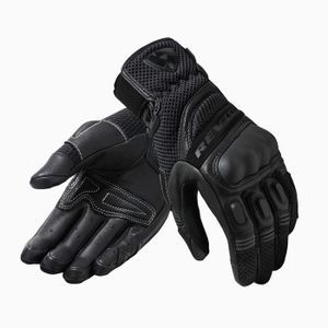 REV'IT! DIRT 3 LADY BLACK MOTORCYCLE GLOVES
