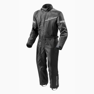 REV'IT PACIFIC 2 H2O BLACK RAIN SUIT