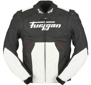 Furygan Raptor Evo Black White Red