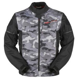 Furygan Riley Black Camo