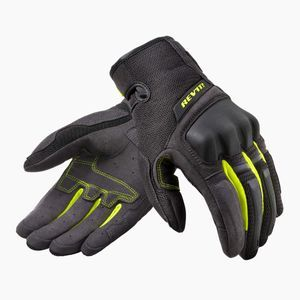 REV'IT! Volcano Black Neon Yellow