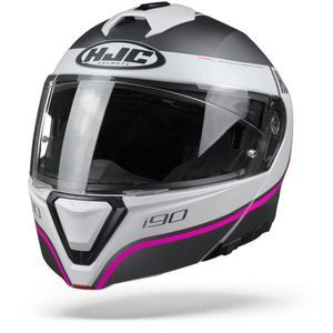 HJC I90 Davan Casque Modulable Rose
