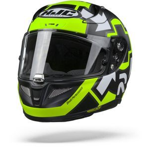 HJC RPHA 11 Iannone Replica MC4HSF Casque Intégral Jaune Fluo
