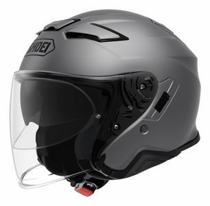 Shoei J-Cruise II Casco Jet Mate Gris Oscuro