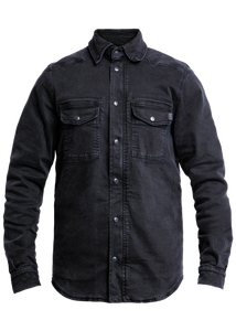 John Doe Motoshirt Denim Black XTM