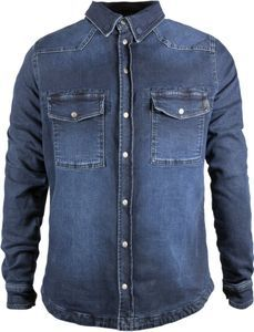 John Doe Motoshirt Denim Raw XTM Camiseta Motorista