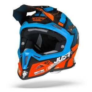 Just1 J12 Pro Vector Orange Bleu Carbone