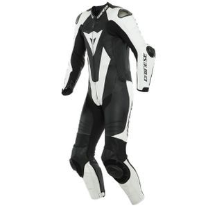 Dainese Laguna Seca 5 Perforated Black White1 Piece