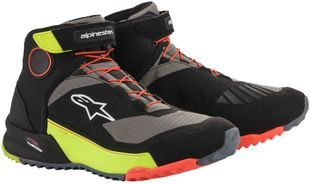 Alpinestars CR-X Drystar Riding Black Yellow Fluo Red Fluo