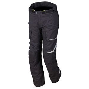 Macna Logic Short Pantalon De Moto Court Noir