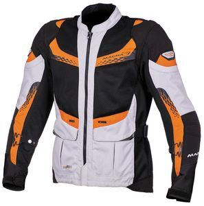 Macna Furio Veste Gris Clair Noir Orange