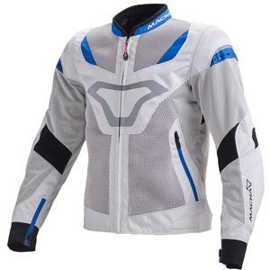 Macna Rotor Veste Night Eye Blanc Bleu