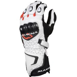 Macna Track R White Black Red