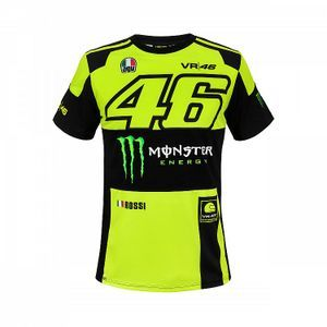 VR46 Monster Dual Replica Fluo Gelb