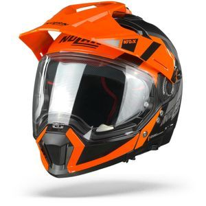 Nolan N70-2 X Decurio 31 Flat Noir Orange Blanc Anthracite
