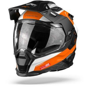 Nexx X.WED2 Duna Casque Aventure Blanc Orange
